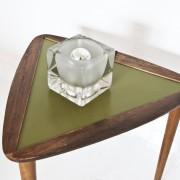 Lampe cube en verre