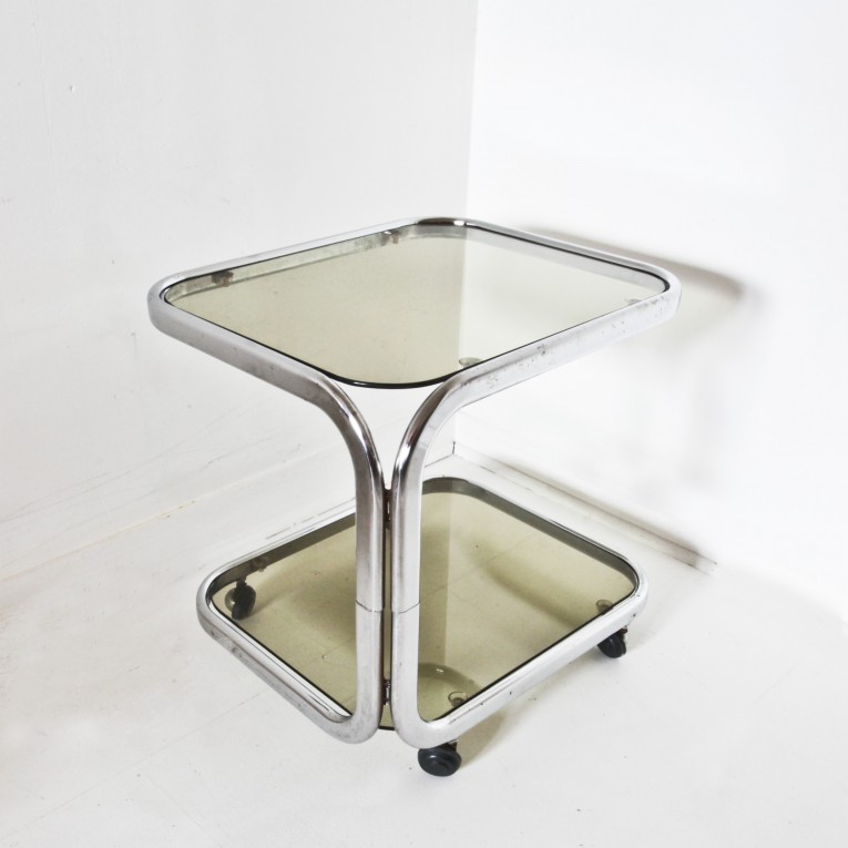 table dappoint ou bout de canap 70s - Bout De Canape Design